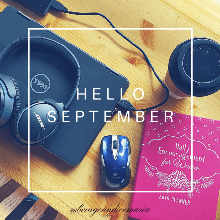 Hello September Wallpaper
